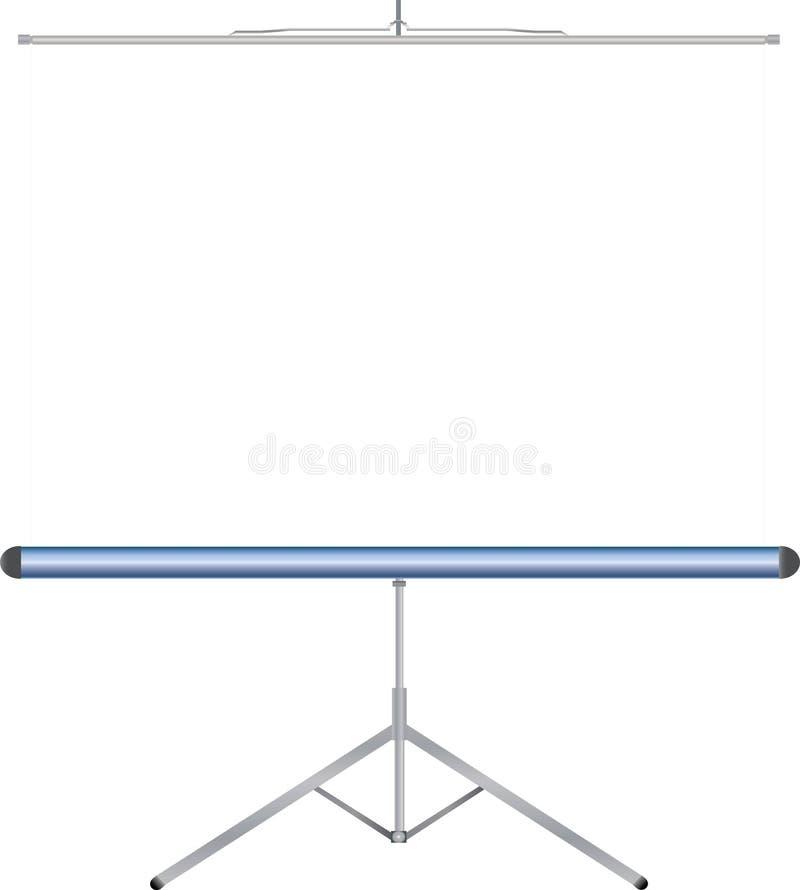 Tela de projeção do tripé