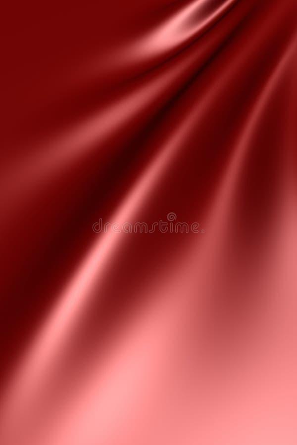 Tela de seda elegante do cetim ilustração do vetor