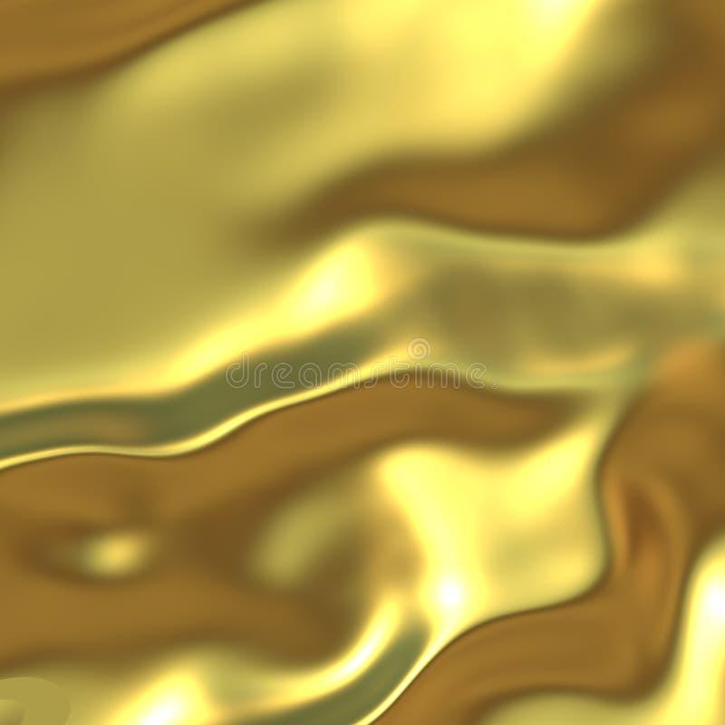 Tela de seda lustrosa ilustração do vetor