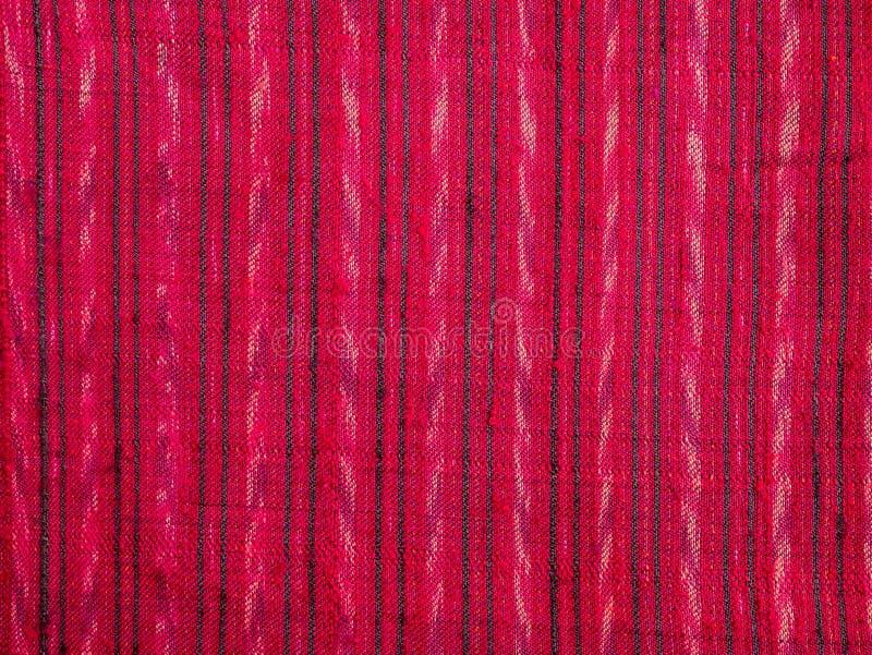 Tela de seda tradicional bonita do estilo tailandês do projeto imagens de stock royalty free