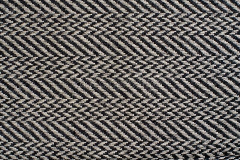 Tela de Weave quebrada desenhos em espinha da sarja fotos de stock royalty free