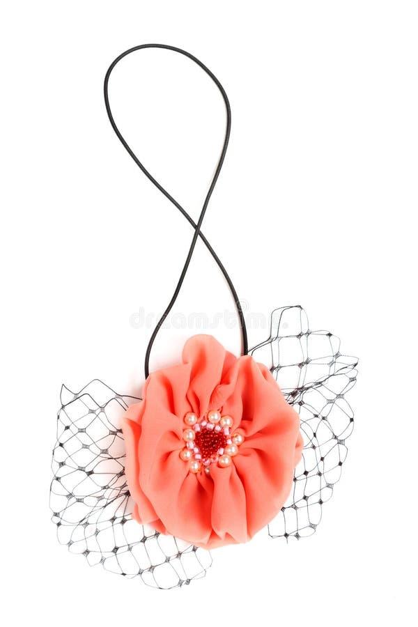 Tela decorativa de la flor fotos de archivo