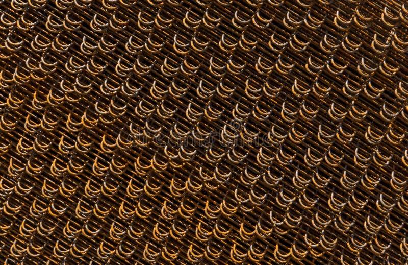 Tela del alambre de acero imagenes de archivo