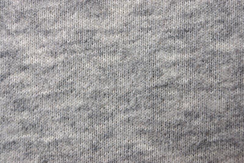Tela del algodón, jersey, natural, un cierre para arriba fotografía de archivo