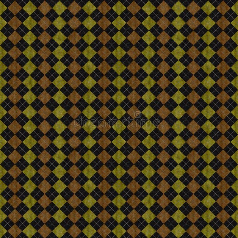 Tela del Knit ilustración del vector