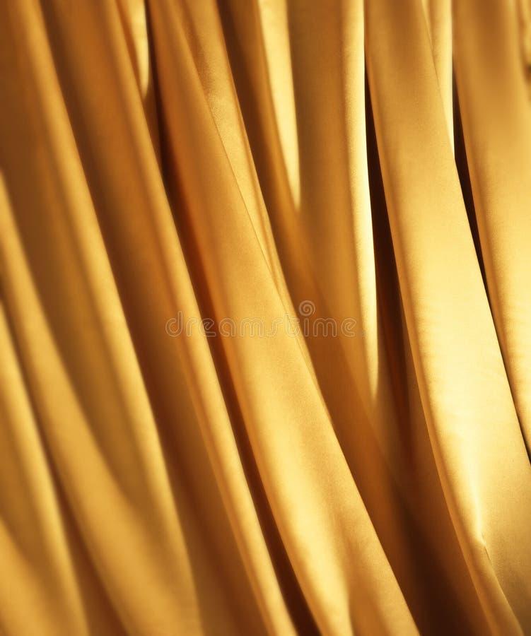 Tela del oro fotografía de archivo libre de regalías