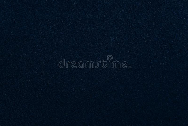 Tela del terciopelo del color azul marino imagen de archivo libre de regalías