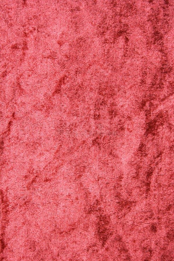 Tela del terciopelo de la terracota como fondo imagen de archivo libre de regalías