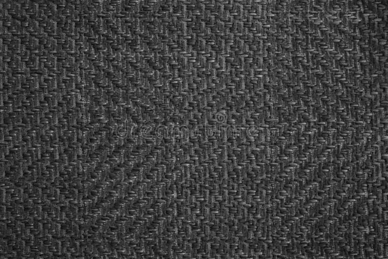 Tela di tela bianca nera scura L'immagine di sfondo, struttura immagine stock
