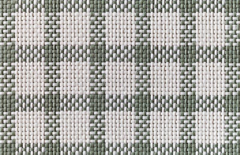 Tela Di Canapa Checkered Immagini Stock