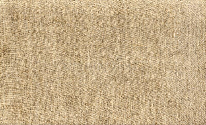 Tela di canapa naturale, tela di canapa di tela. immagine stock