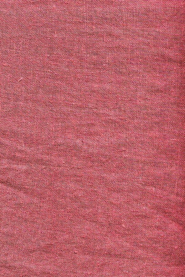 Tela di canapa rossa immagine stock