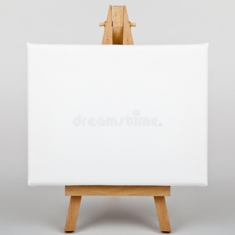 Tela di canapa sul supporto fotografia stock