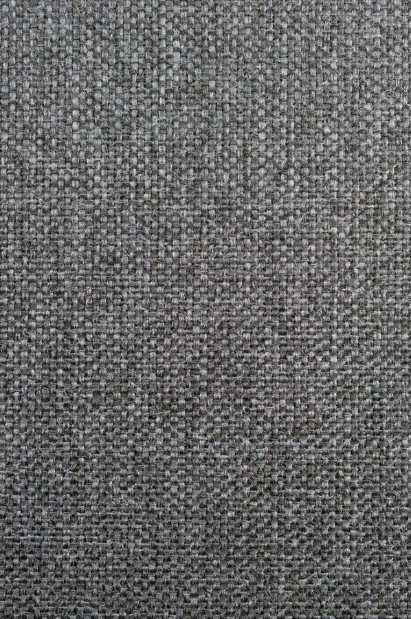 Tela di iuta nera grigio scuro della tela di sacco della tela da imballaggio di lerciume verticale strutturato naturale, decorazi immagini stock