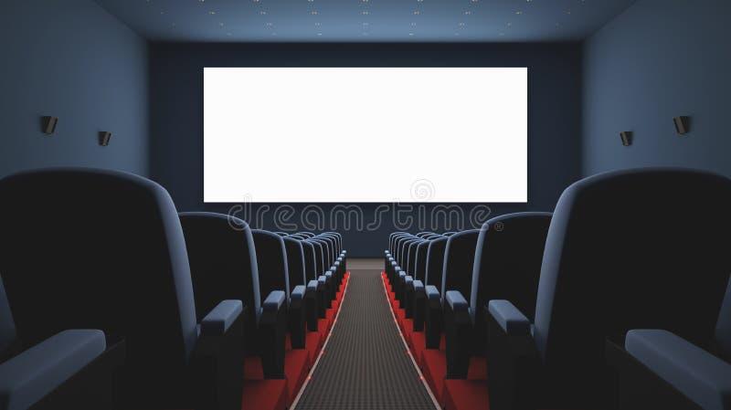Tela Do Cinema Imagem de Stock Royalty Free