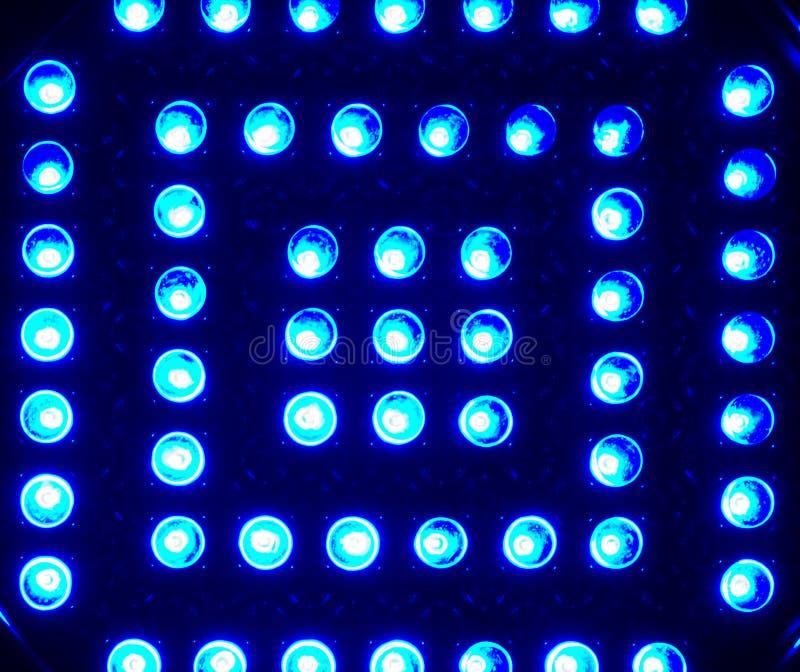 Tela do diodo emissor de luz foto de stock