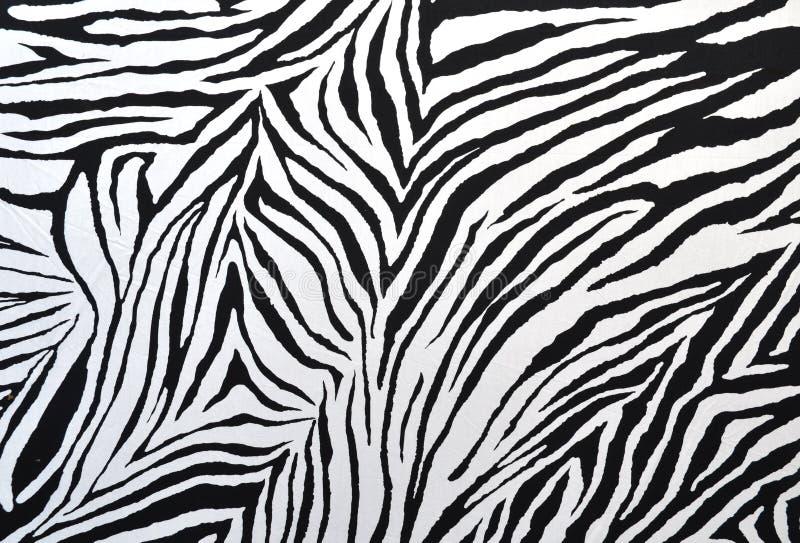 Tela do estilo da zebra imagens de stock royalty free