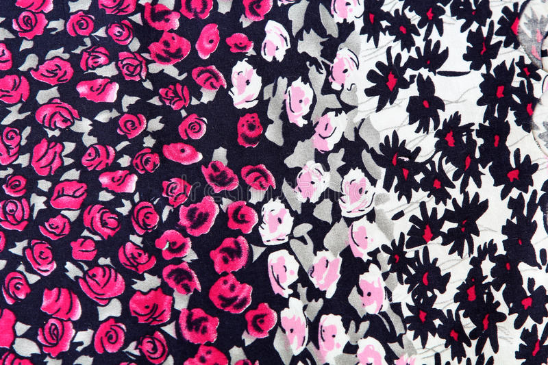 Tela do fundo floral foto de stock