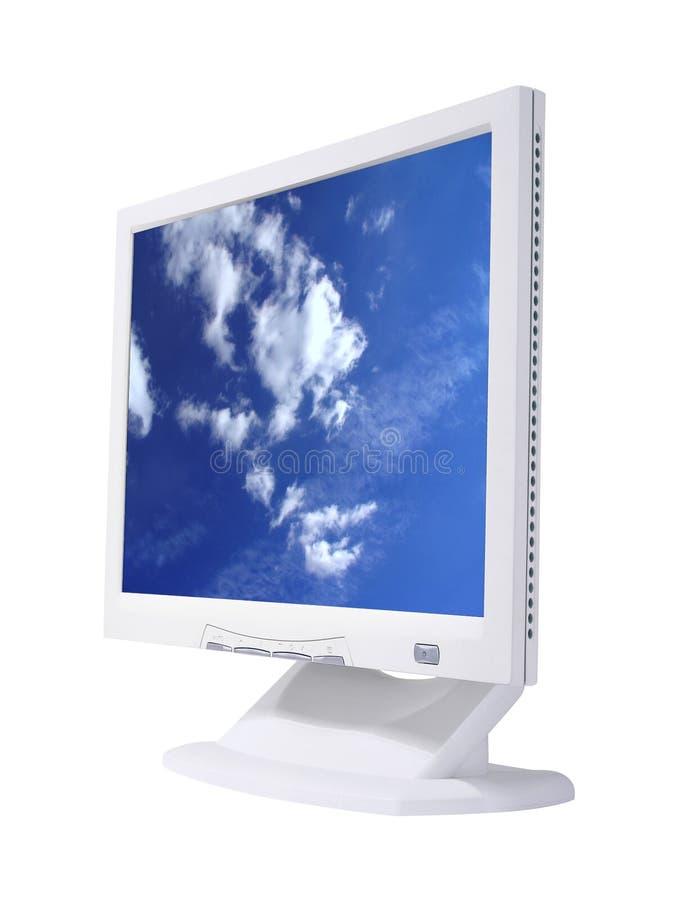 Tela do LCD foto de stock