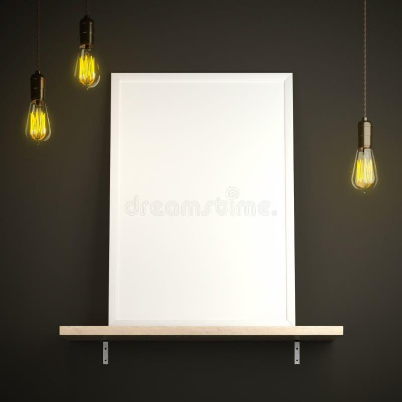 Tela e lampadine d'annata fotografia stock