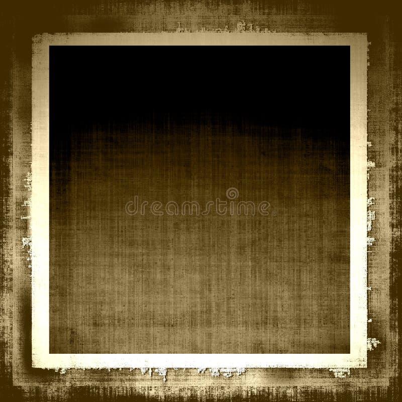 Tela envelhecida de Grunge ilustração do vetor