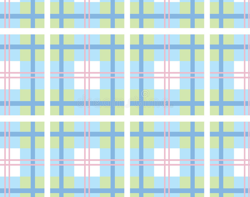 Tela escocesa 9 ilustración del vector