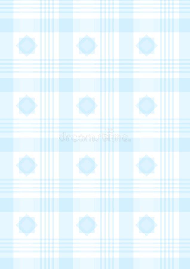 Tela Escocesa Azul Fotografía de archivo libre de regalías