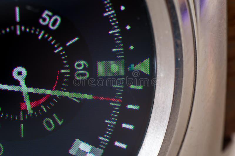 Tela esperta do relógio fotografia de stock