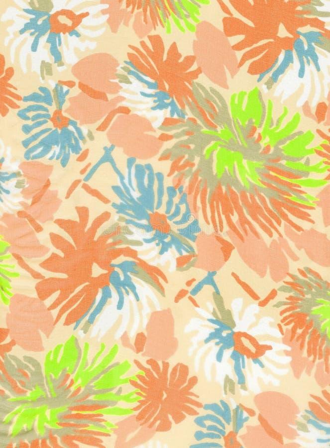 Tela floral. imagens de stock royalty free