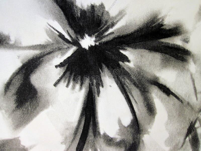 Tela floral blanca fotografía de archivo