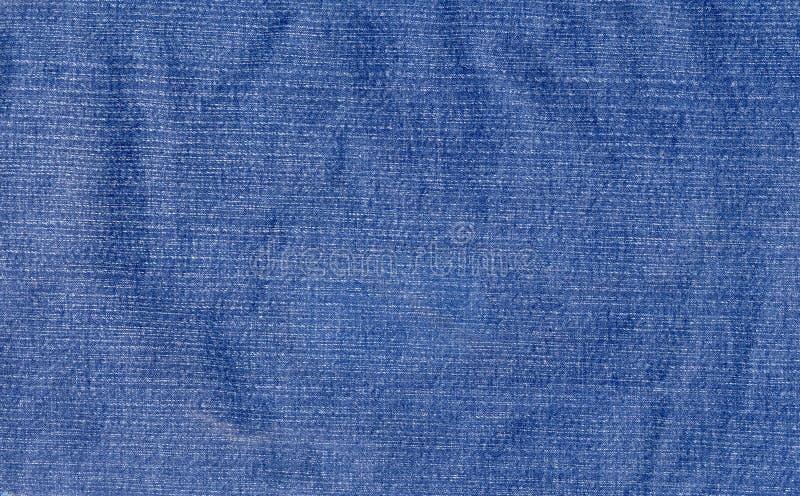 Tela gastada del dril de algodón imagen de archivo libre de regalías