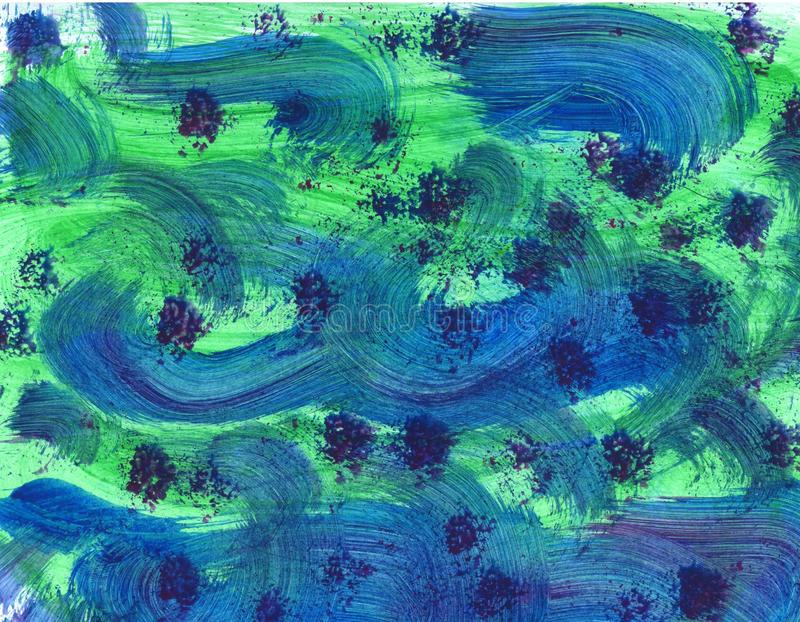 Tela geom?trica de la textura del papel pintado del modelo brillante abstracto decorativo del fondo Frontera, festiva stock de ilustración