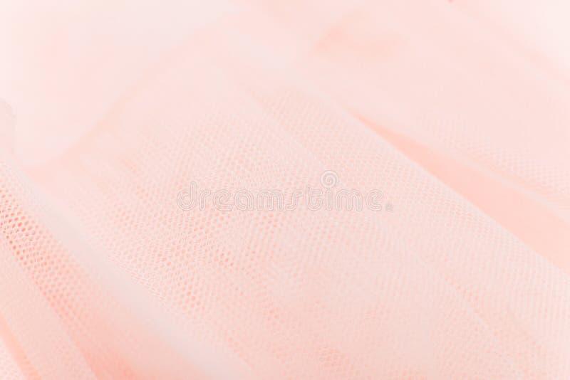 Tela macia da malha cor-de-rosa delicada bonita do fundo fotografia de stock