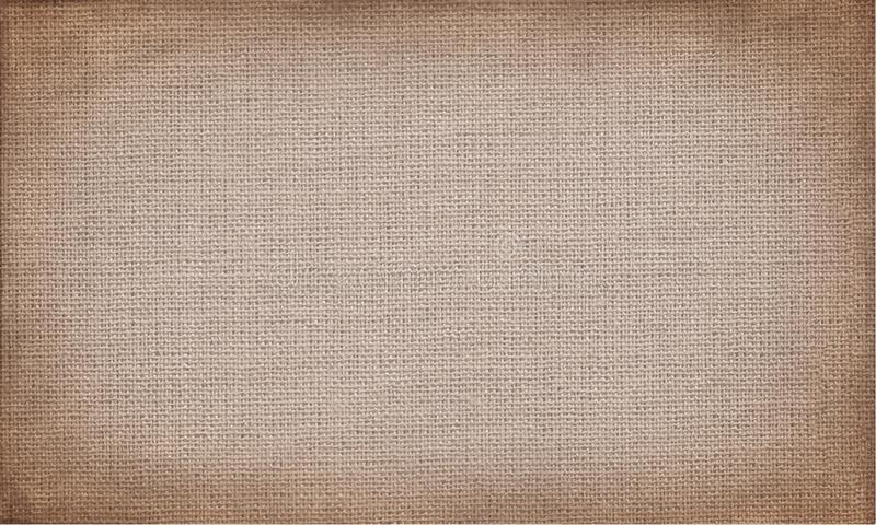 Tela marrone orizzontale da usare come il fondo o struttura di lerciume royalty illustrazione gratis