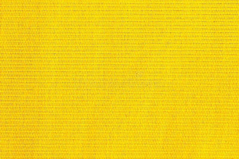 Tela natural amarilla clara texturizada imágenes de archivo libres de regalías