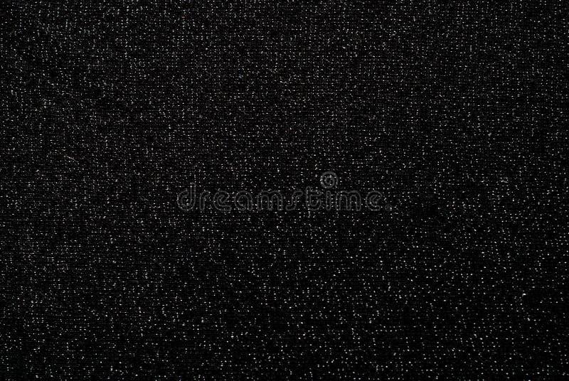 Tela negra con brocado imagen de archivo libre de regalías