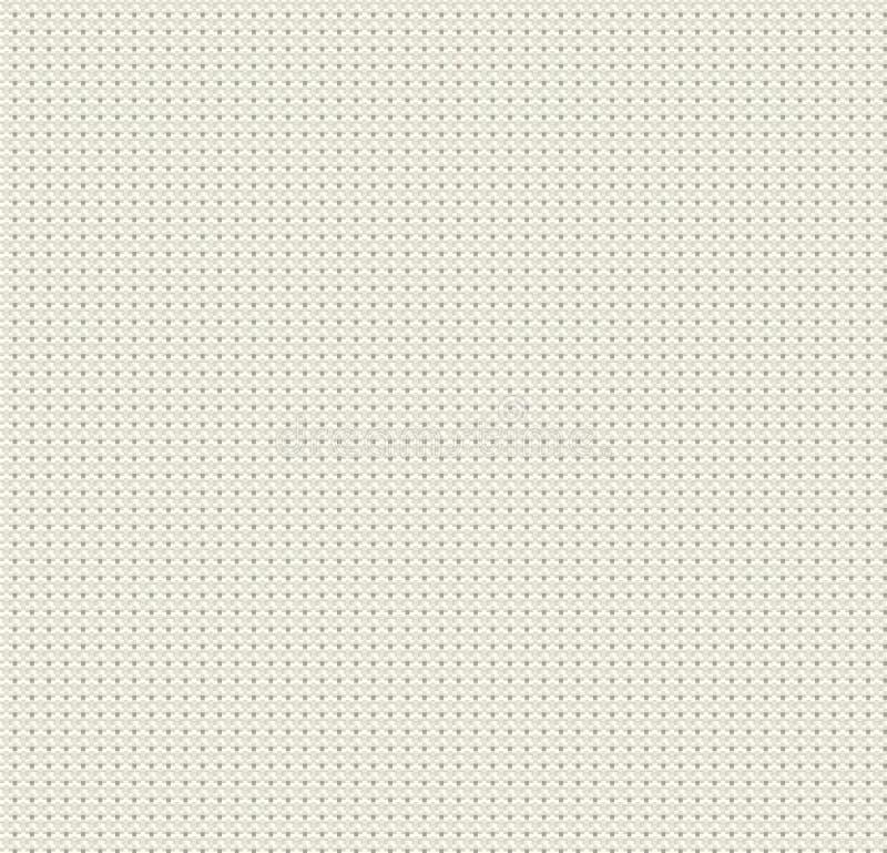 Tela para o fundo do bordado, textura de linho, ilustração stock