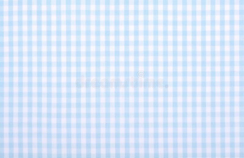 Tela quadriculado azul fotos de stock royalty free