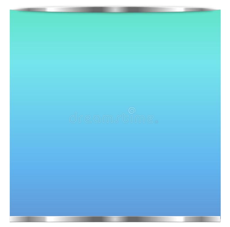 Tela realística da tevê Painel à moda moderno do LCD, tipo do diodo emissor de luz Modelo da exposição do monitor do grande compu ilustração stock