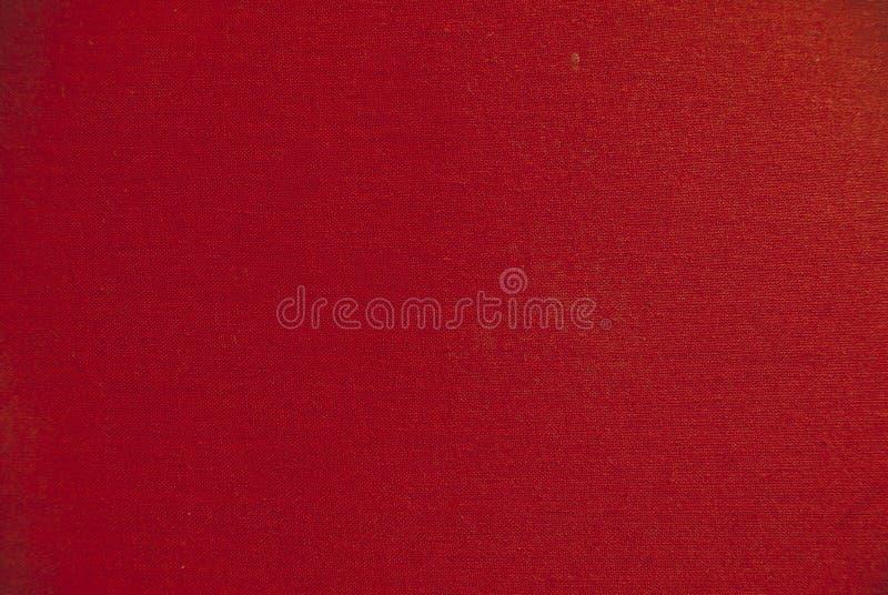 Tela roja foto de archivo