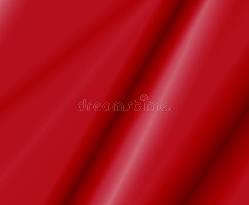 Tela roja del satén libre illustration