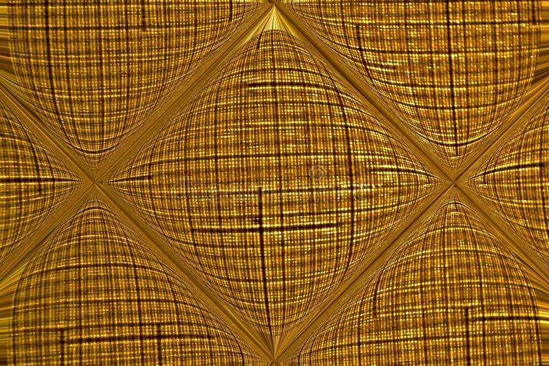 A tela tecida diluída é refletida em uma telha de vidro fotografia de stock