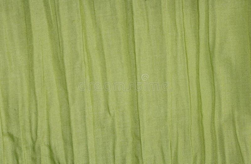 Tela verde fotografia de stock royalty free