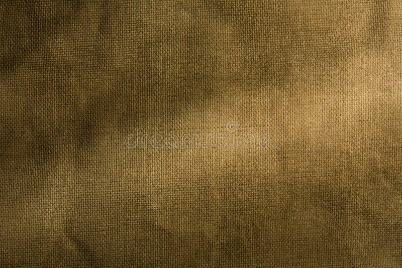 Tela vieja de la lona de la textura como fondo fotografía de archivo libre de regalías