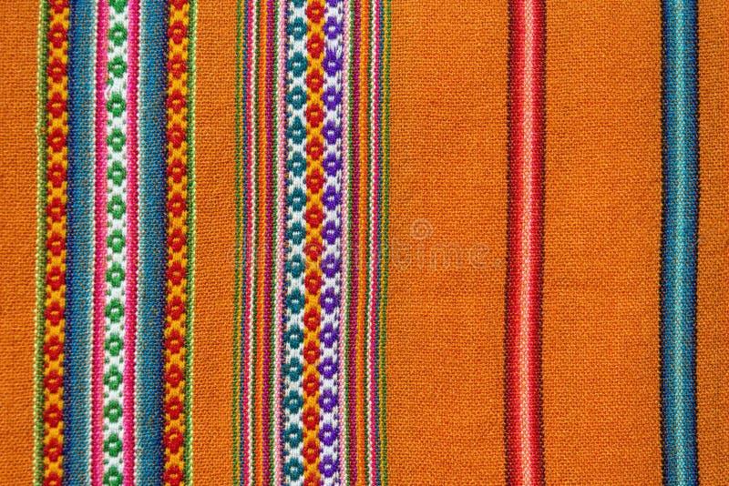 Telaio andino di Aguayo fotografie stock libere da diritti