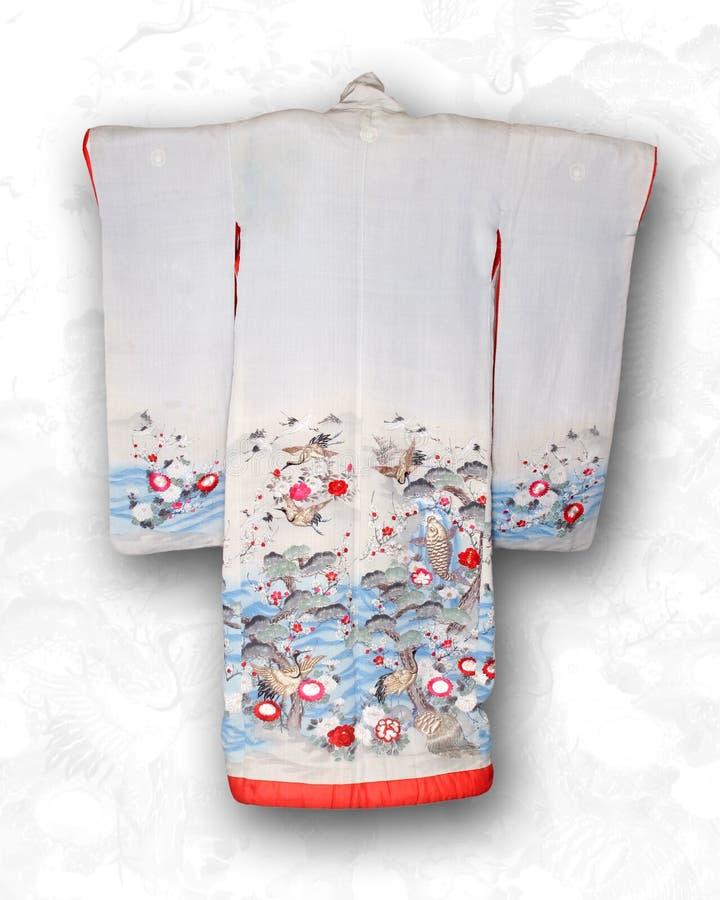 Telaio giapponese del kimono immagine stock libera da diritti