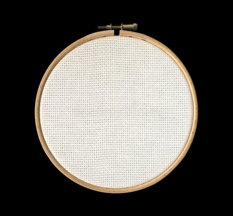 Telar de mano en fondo negro fotografía de archivo libre de regalías