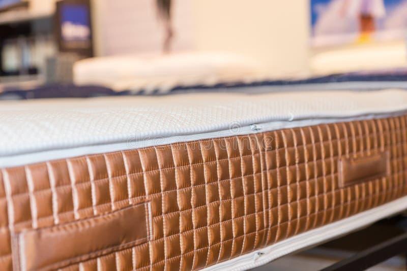 Telar jacquar del tejido de la textura del colchón fotos de archivo libres de regalías