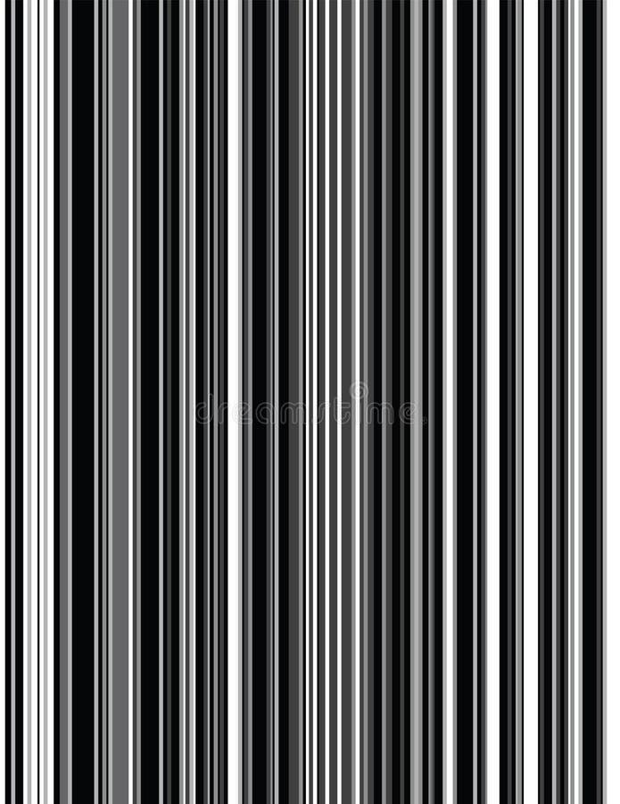 Telas a rayas grises stock de ilustración