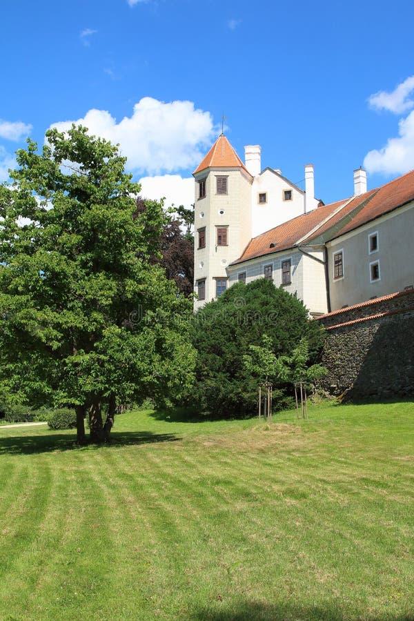 Telc Castle, Czech Republic stock image